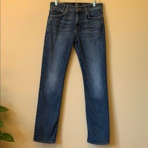 Seven for All Mankind Straight Jeans.